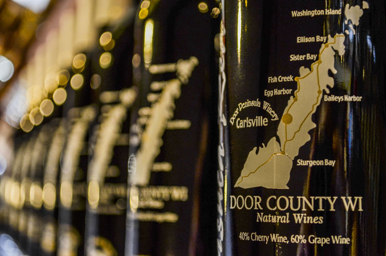 Door-County-Winery-Rows-Of-Wine
