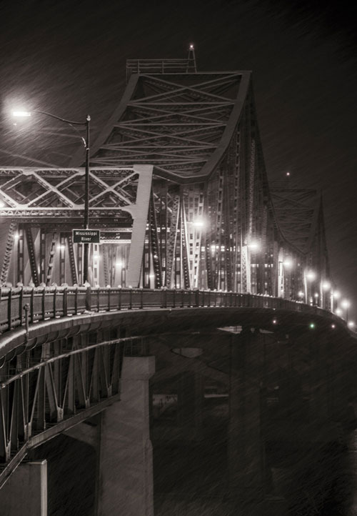 La-Crosse-Cass-Street-Bridge-In-Snow